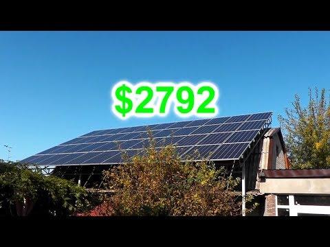 Реальный Срок Окупаемости СЕТЕВОЙ СЭС 17 кВт. Отчет за Сентябрь 2019