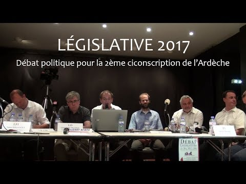 DEBAT legislative Ardèche
