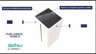 Purificador de aire Daitsu Pure Airbox Home S