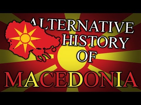 Alternative History of NORTH MACEDONIA (Vardarska) 680 - 2019