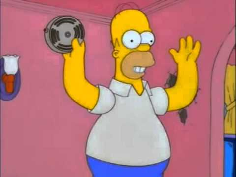 """Alarma """"Todo está bien"""" - Homero"""