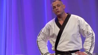 Changing the world one kick at a time | Chip Townsend | TEDxACU
