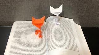 Как сделать кошку из бумаги. Бумажный кот оригами. How to make a cat out of paper. Origami DIY.