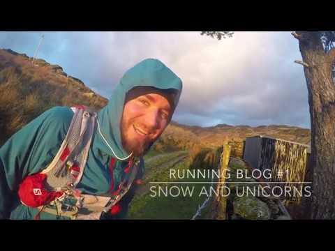 Running Video Blog #1 - Snow and Unicorns Remastered