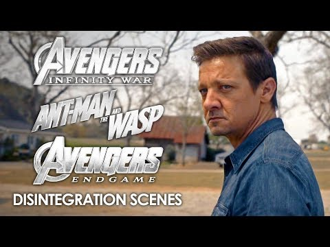 Disintegration Scenes | Avengers: Infinity War, Ant-Man And The Wasp And Avengers: Endgame