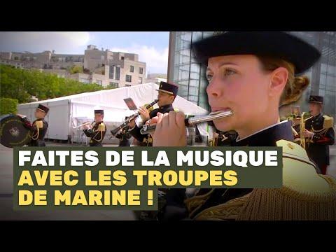 La Musique des Troupes de Marine #AvecNosBlessés