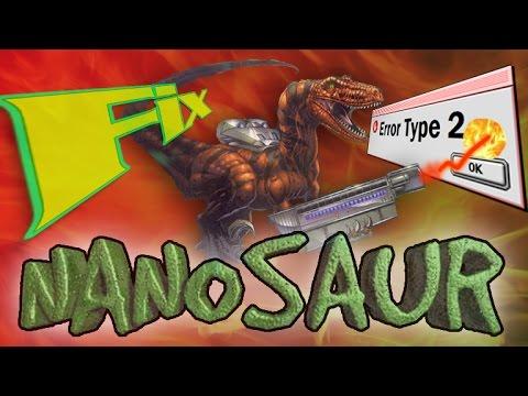 How to get Nanosaur working in Mac OS 9 (fix type 2 error)