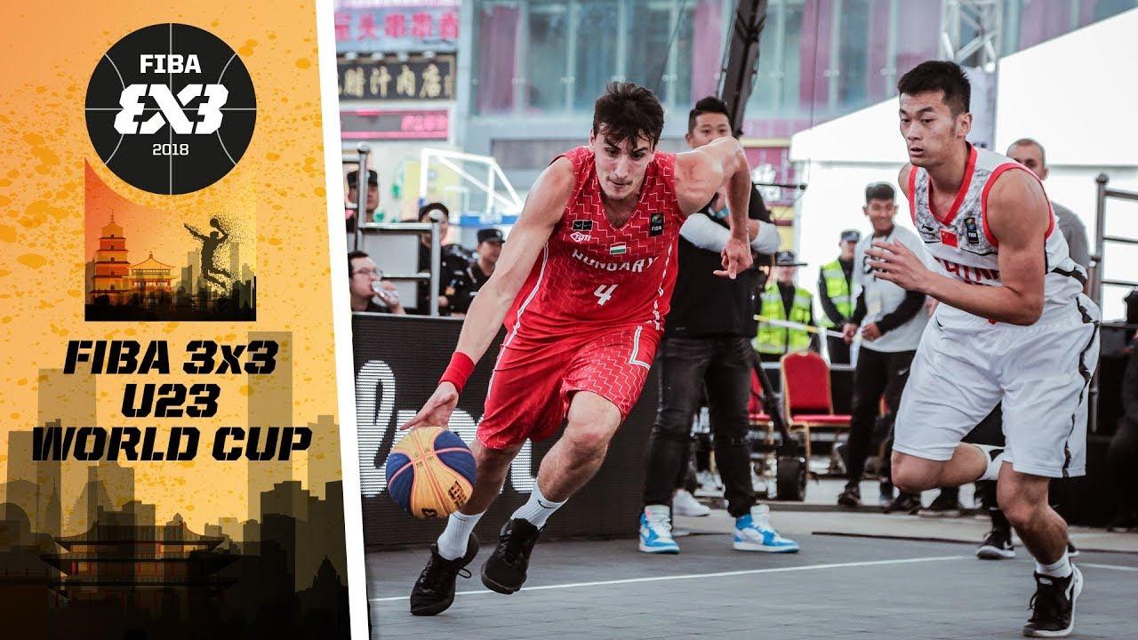 China v Hungary - Quarter-Final - Full Game - FIBA 3x3 U23 World Cup 2018