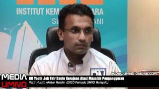 BN Youth Job Fair Bantu Kerajaan Atasi Masalah Pengangguran