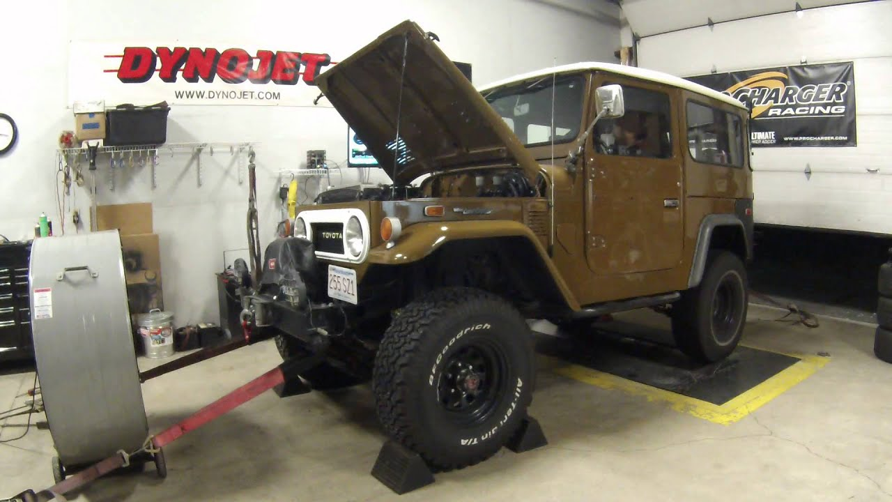 LS1 Swapped FJ40 at SMG Motoring for tuning