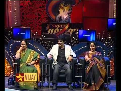 Super Singer 3 Sathyaprakash & Alka Ajith
