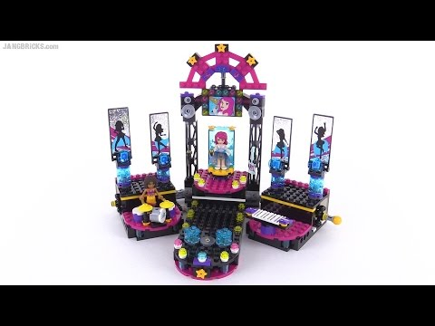 LEGO Friends Pop Star Show Stage review! set 41105
