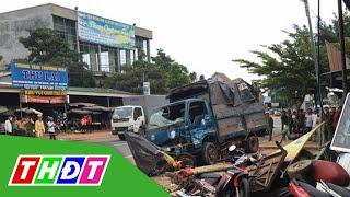 Tai nạn giao thông kinh hoàng ở Đắk Nông: Xe tải lao thẳng vào chợ, nhiều người chết | THDT