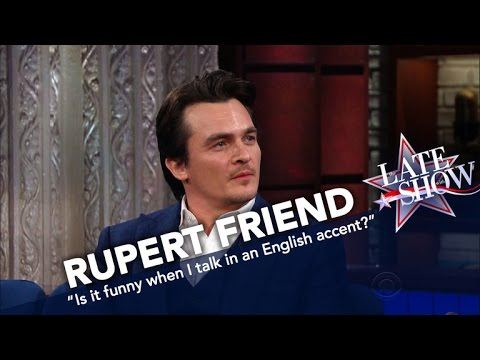 'Homeland' Star Rupert Friend s Off His Thick English Accent