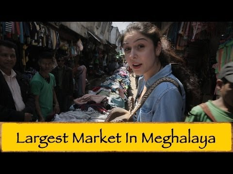 Lewduh Bara Bazaar || Shillong
