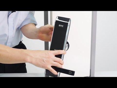 Adel 3398 Fingerprint Keyless Door Lock With Keypad Access