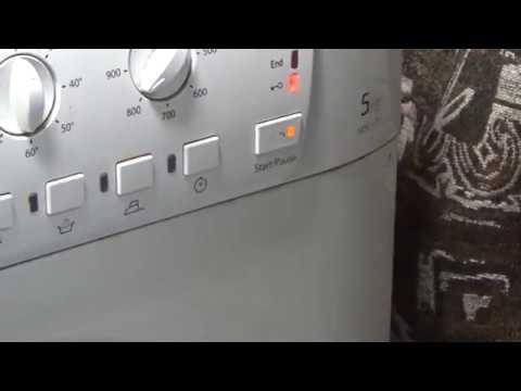 Моргает индикатор замка машинка не запускается Hotpoint-Ariston