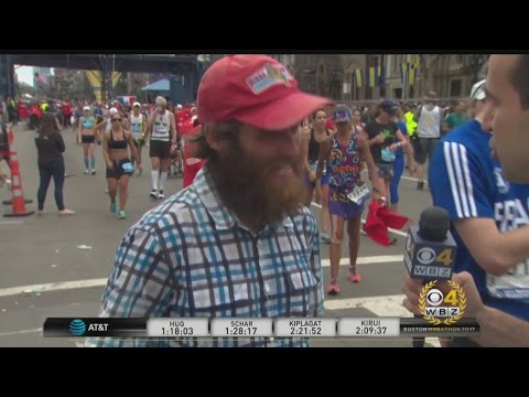 Boston Marathon Just Part Of Man's 'Forrest Gump'-Like Running Odyssey