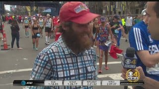 Boston Marathon Just Part Of Man