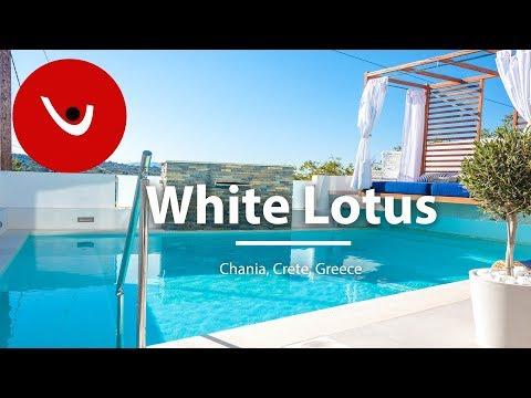 White Lotus Villa to Rent in Chania Crete Greece | Unique Villas | uniquevillas.gr