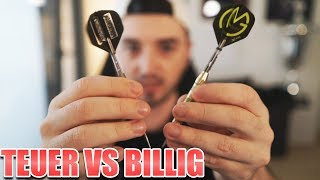 """BILLIGE DARTS"" vs ""TEURE DARTS"""
