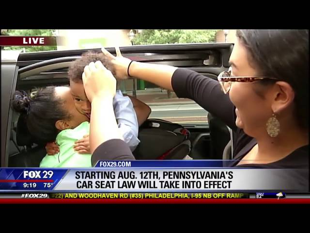 WATCH Pennsylvanias New Car Seat Law Has Some Kicking And Screaming