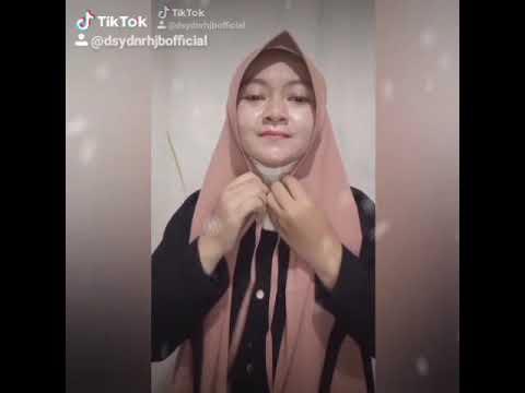 Tutorial Hijab Pasmina Pet - Tutorial Cara Memakai Jilbab Pasmina Anti Tembem Untuk Wajah Bulat