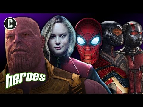 Infinity War: How Will It Affect Captain Marvel, Ant-Man & the Wasp, and Spider-Man? - Heroes