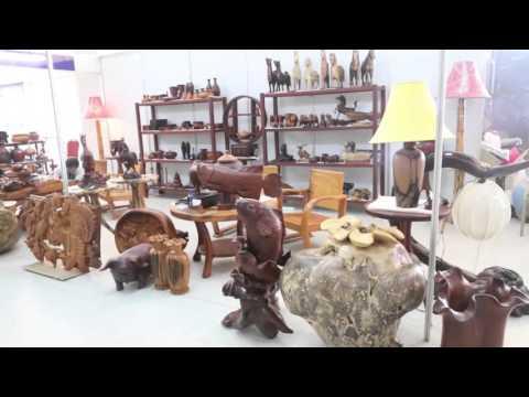 Furniture fair raises profile of Lao wood products