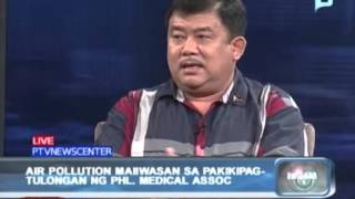Balitaan: Panayam kay Dr. Virgilio R. Lazaga tungkol sa pag-iwas sa air pollution