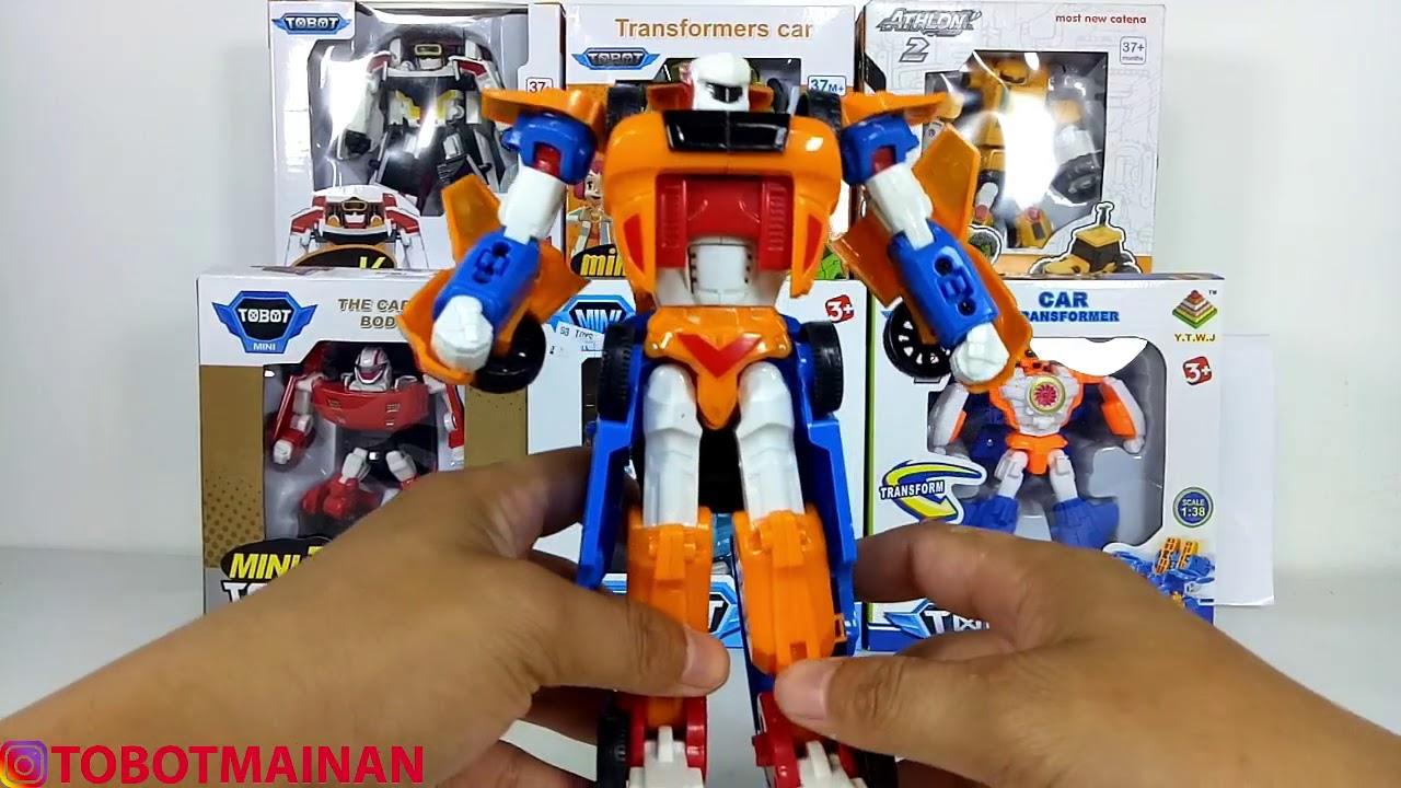 Tobot Tritan Toys Car Robot Transformers