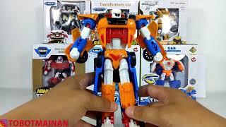 Tobot Titan Toys X Y Z Robot Car Transformers
