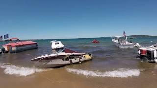 Sunken Boats in West Grand Traverse Bay - 2018