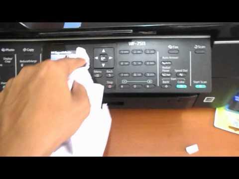 How to clean a copier machine