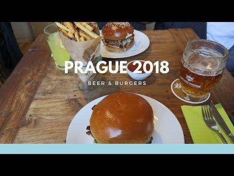 Touring PRAGUE! & Dish Burger   vlog 18