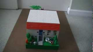 Custom Build- Lego Three Bedroom Three Bathroom House With A Basement