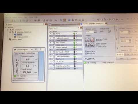 Motor com encoder + Inversor de frequência - Posicionamento absoluto via rede com NORD DRIVESYSTEMS
