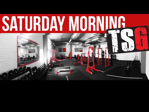 Titanium Strength Gym - Saturday Morning Early Birds - YouTube