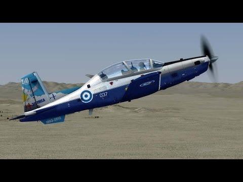 IRIS Beechcraft T-6 Texan II - Tutorial with startup