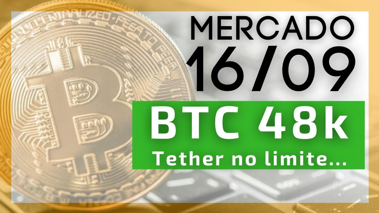 Download Bitcoin 48.000 USD! E a Tether nos holofotes do risco, novamente!