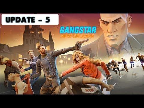 GANGSTAR NEW ORLEANS - UPDATE 5 GAMEPLAY ( BIG UPDATE ) + 5 STAR ITEMS