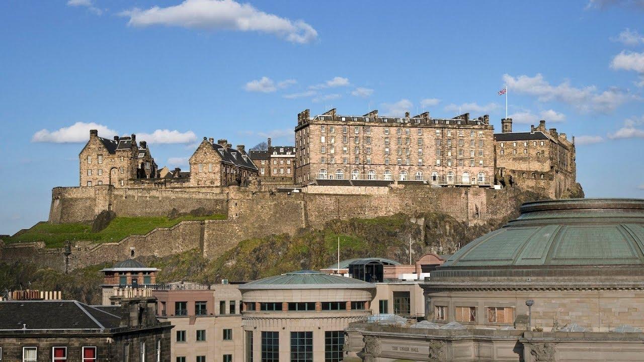 Top 10 Best Hotels Near Edinburgh Castle Scotland Youtube