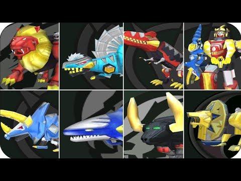 Power Rangers: Dino Thunder All Zords (PS2, Gamecube)