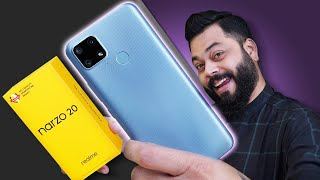 realme Narzo 20 Unboxing And First Impressions ⚡⚡⚡ MTK Helio G85🏎️, 48MP Triple📷, 6000mAh🔋 & More
