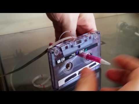 Cassette Tape AMPEX 456 DIY Ultimate tape for Tascam Portastudio Tape recorder 414