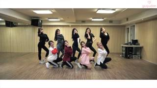 日本語字幕 かなるび gugudan a girl like me dance practice video