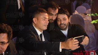 عمرو دياب يرقص وحسام حسني يغني «لولاش» (اتفرج)