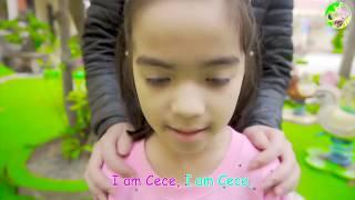 cute kids greeting  song  Hello Song   Nursery Rhymes