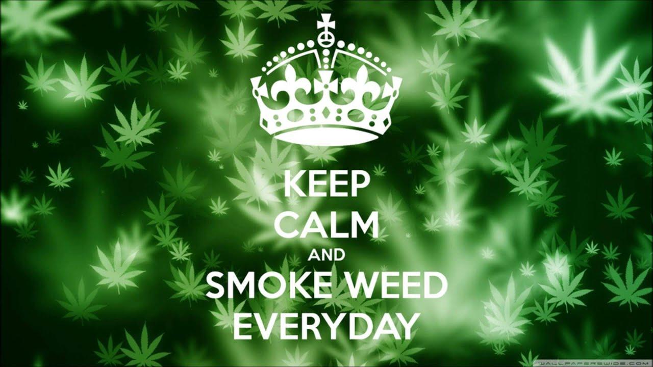 CEEP CALM AND SMOKE WEED EVERYDAY