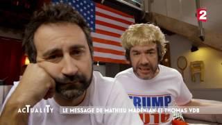 Le soutien à Donald Trump de Mathieu Madénian & Thomas VDB